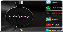 με NavPlay Infotainment Solution