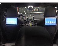 Rear Entertainment Porsche Cayenne 2015
