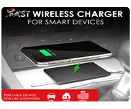 iSimple Fast Qi Wireless Charging